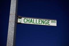 Herausforderung Lizenzfreies Stockfoto