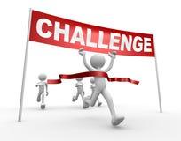 Herausforderung Stockfoto