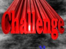 Herausforderung lizenzfreie abbildung