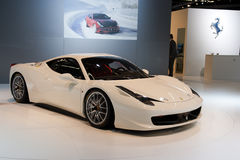 Herausforderung Ferrari-458 Lizenzfreie Stockfotos