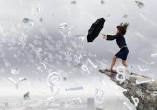 Herausforderung im Geschäft Lizenzfreie Stockfotos