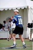 Herausforderung Peyton Manning-QB Lizenzfreies Stockfoto
