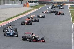 Herausforderungs-Formel-Rennen V de V Ausdauer-Reihe lizenzfreie stockbilder