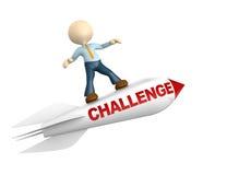 Herausforderungskonzept lizenzfreie abbildung