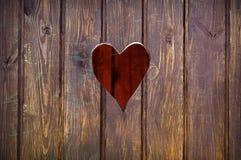 Herausgeschnittene Herzform Lizenzfreies Stockbild