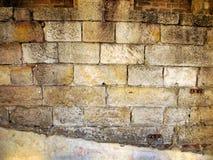 Herausgestellte 19. Sandstein-Block-Wand, Sydney, Australien Lizenzfreies Stockfoto