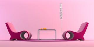 Herausspringen-Kunst Artinnenraum von Stockfotos