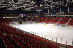 Herb Brooks Arena, Lake Placid, USA royalty free stock photo