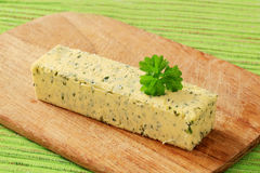Herb Butter Royalty-vrije Stock Afbeelding