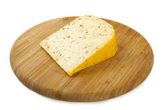 Herb cheese Stock Photo