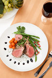 Herb Crusted Lamb Chops fotografia de stock royalty free