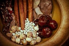 Herb dry variety Royalty Free Stock Photo