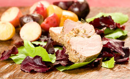 Herb Encrusted Pork Tenderloin Royalty Free Stock Images