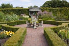 Herb Garden at Hamilton Gardens Stock Image