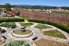 Herb Garden of Silves, Algarve, Portugal Royalty Free Stock Photography