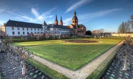 Herb Garden y abadía Imágenes de archivo libres de regalías