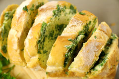 Herb And Garlic Bread Royalty Free Stock Photos