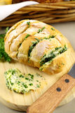 Herb And Garlic Roll Stock Image