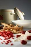 Herb ingredient Royalty Free Stock Images
