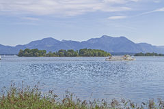 Herb island in the Chiemsee Stock Photos