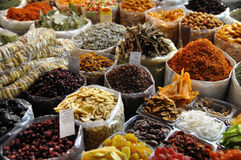 Herb market Royalty Free Stock Image