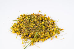 Herb mix in white background Royalty Free Stock Photos