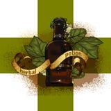 herb naturalnych ilustracja wektor
