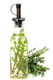 Herb oil stock image