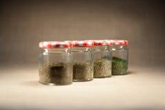 Herb pot Stock Photography