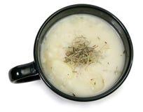 Herb Potato Soup royalty free stock photos
