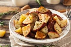Herb Red Potatoes Roasted caseiro fotos de stock