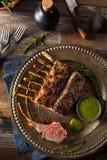 Herb Roast Lamb caseiro fotos de stock