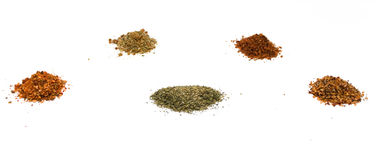 Herb and Spice Blends Stock Image