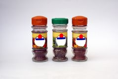 Herb & Spice Jars Stock Images