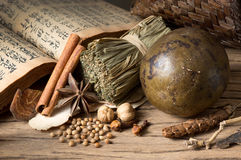 Herb and spice Royalty Free Stock Image