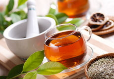Herb tea Royalty Free Stock Images