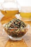 Herb tea mixture, close-up royalty free stock photography