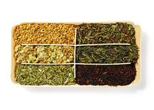 Herb teas Stock Images