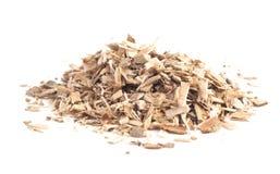 Herb Willow Bark é encontrado na natureza e usado medicinalmente para fotografia de stock