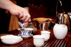 Herbaciana ceremonia zdjęcie royalty free