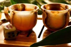 Herbaciana ceremonia Zdjęcie Stock