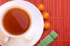 Herbaciana filiżanka Zdjęcie Royalty Free