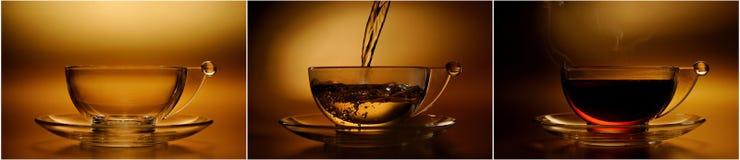 Herbaciana filiżanka  Zdjęcia Royalty Free