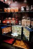 Herbaciana izbowa kawiarnia Fotografia Royalty Free
