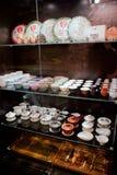 Herbaciana izbowa kawiarnia Zdjęcie Stock