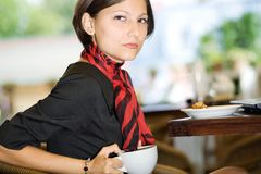 herbaciana kobieta Zdjęcia Stock