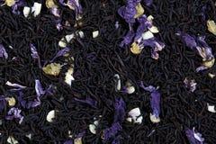 Herbaciana mieszanka ślazów płatki, migdał, czekoladowy smak obrazy royalty free
