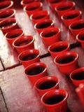 Herbaciane filiżanki dla religijnego Chińskiego wydarzenia zdjęcie royalty free