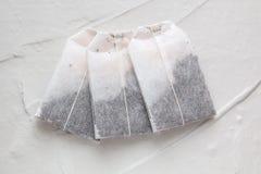 Herbaciane torby na lekkim tle Zdjęcie Royalty Free