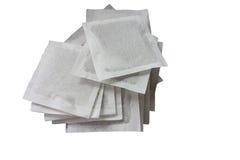 Herbaciane torby. ziołowy zdjęcie royalty free